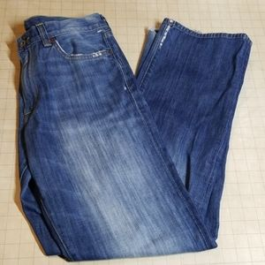 Lucky Brand Vintage Straight Jeans Distressed 32
